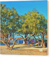 Parmer's Resort At Little Torch Key Wood Print