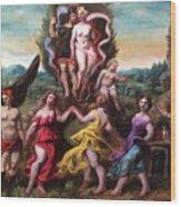 Parnassus Wood Print
