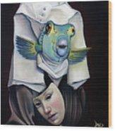 Parrishfish Wood Print