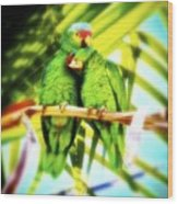Parrotheads 2016 Redux For Shirts Wood Print