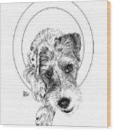 Parson Russell Terrier @elmo.parson Wood Print