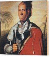 Parsons - Cherokee 1762 Wood Print