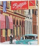 Partagas Cigar Factory Havana Cuba Wood Print