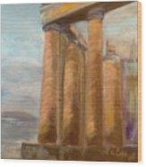 Parthenon Wood Print