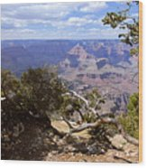 Partly Cloudy - Grand Canyon Wood Print