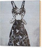 Party Dress Wood Print