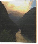 Parvati River Wood Print