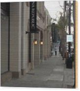 Pasadena Sidewalk 1093 Wood Print