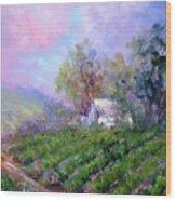 Paso Vineyard Wood Print