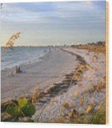 Pass A Grill Beach Florida Wood Print