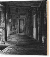 Passaggio Di Venezia Wood Print