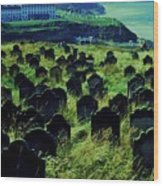Passed Or Past Residents Of Whitby, Yorkshire Wood Print