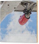 Passenger Jet Coming In For Landing 9 Wood Print