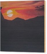Passinby2 Wood Print