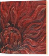 Passion Iv Wood Print
