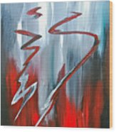 Passion Two Wood Print