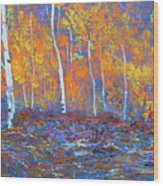 Passions Of Fall Wood Print