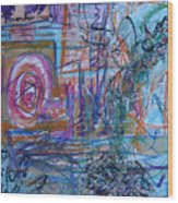 Pastel 21 Wood Print