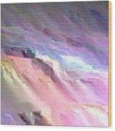 Pastel Imagination Wood Print