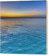 Pastel Ocean Wood Print