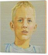 Pastel Portrait Of Aaron Wood Print