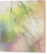 Pastel Spring Whispers Wood Print