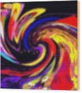 Pastel Voyager Wood Print