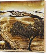 Pastelero Textures Wood Print