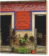 Pastileria Wood Print