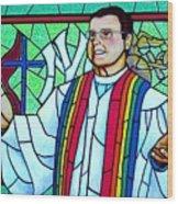 Pastor Charlie Wood Print