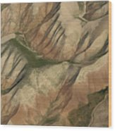 Pastures And Valleys Wood Print