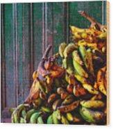 Patacon Wood Print