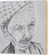 Patan Wood Print