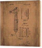 Patent  Razor Art Barry Toles Johansan Wood Print