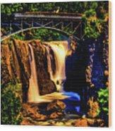 Paterson's Great Falls IIi Wood Print