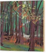Path Wood Print