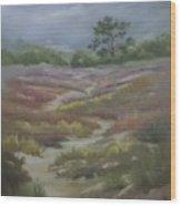 Path From East Beach Wood Print