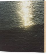 Path Of Sunlight Wood Print