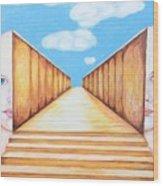 Path Of Unity Wood Print