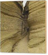 Path Through The Tent Rocks Wood Print