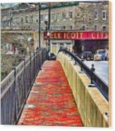 Path To Ellicott City Wood Print