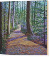 Path To Hubbards Farm Market Wood Print