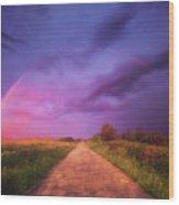 path to Phantasiland Wood Print