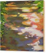 Pathway Glitter Wood Print