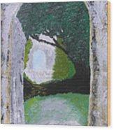 Pathway To Peacefullness Wood Print