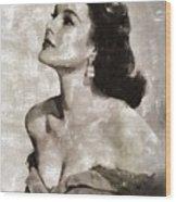 Patricia Medina, Vintage Actress Wood Print