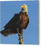 Patriot Guard Wood Print