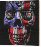 Patriotic Jeeper Cyborg No. 1 Wood Print