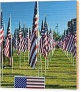Patriotic Wood Print