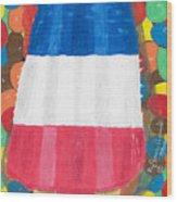 Patriotic Summertime Wood Print